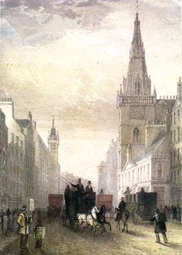 The Laugh Kirk as it was in 1807