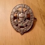 Glasgow cap badge 1927-30
